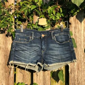 Blank NYC dark denim short